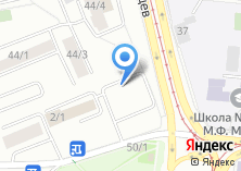Компания «АвтоГвард» на карте