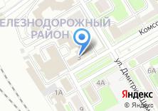 Компания «Дирекция по ремонту и эксплуатации путевых машин» на карте