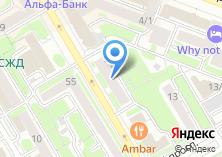 Компания «ПТБТ» на карте