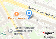 Компания «Ломмета» на карте