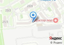 Компания «Проф переезд» на карте