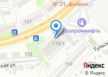 Компания «Напитки для души» на карте
