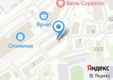 Компания «Ажурэль» на карте
