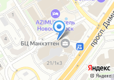 Компания «Сибирский кадастровый центр» на карте