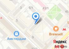 Компания «КВАРТИРНОЕ БЮРО УЮТ(ГЕОДЕЗИЧЕСКАЯ,7)» на карте