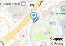 Компания «ВОСТОК-ЗАПАД» на карте