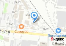 Компания «ЕВРОПОГОНАЖ» на карте