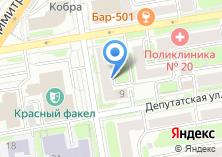 Компания «Полигон-Сибирь» на карте