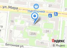 Компания «Автосервис на ул. Мира» на карте