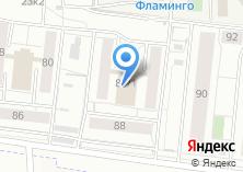 Компания «Фламинго» на карте
