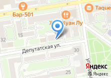 Компания «Парикмахерская на Депутатской» на карте