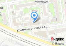 Компания «Технологии Сибири» на карте