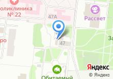 Компания «Затулинский городок аттракционов» на карте