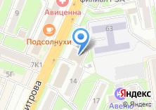 Компания «АсфальтСиб» на карте