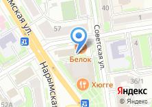 Компания «Гостиница Новосибирского Цирка» на карте