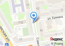 Компания «СВЯЗЬ-безопасность Управление ведомственной охраны Минкомсвязи РФ по Сибирскому федеральному округу» на карте