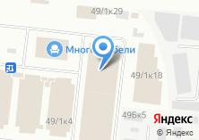Компания «Аква-Мебель» на карте
