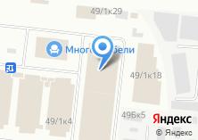 Компания «Студия интерьера» на карте