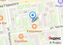 Компания «Аксит» на карте