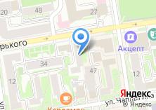 Компания «МЕГАСИБРЕСУРС-ТК» на карте