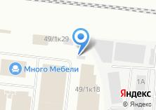 Компания «МеталлДизайн» на карте