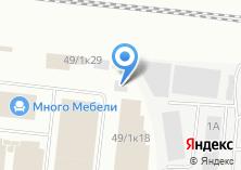 Компания «Левобережный» на карте