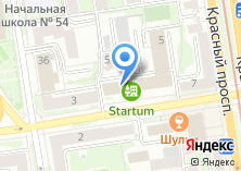 Компания «МНОГО ОБУВИ» на карте
