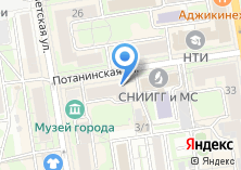 Компания «Крона» на карте