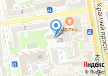 Компания «Транспортно-экспедиционная сеть Сибирь» на карте