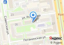Компания «НТВ+ ТВ Новосибирск» на карте