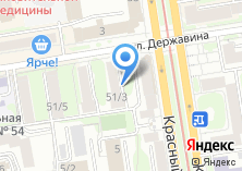 Компания «Консул-Сибирь» на карте