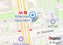 Компания «Хостел на Красном» на карте