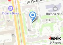 Компания «ИТАКО» на карте