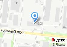 Компания «Технопром» на карте
