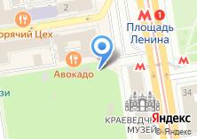 Компания «Точка Кофе» на карте