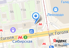 Компания «Апертура-нск» на карте