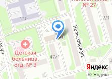 Компания «Ремонтпрофи» на карте