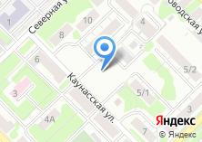 Компания «Сергеевские бани» на карте