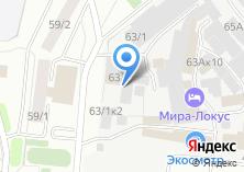 Компания «Сибнордтех» на карте
