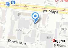 Компания «Золотой Арбуз+» на карте