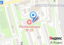 Компания «Поликлиника №27» на карте