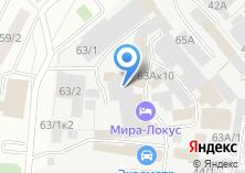 Компания «LION» на карте