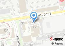 Компания «Сатурн Хай-Тек-Новосибирск» на карте