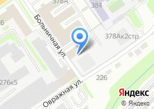 Компания «Русьинвестстрой» на карте