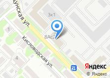 Компания «АвангардСибирь» на карте