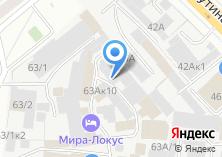Компания «ТЕН-СИСТЕМС» на карте