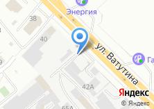 Компания «Автоэлегант» на карте
