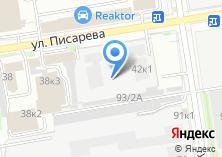 Компания «PowerPlate» на карте