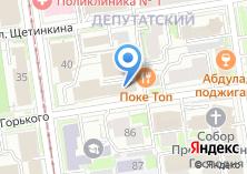 Компания «Деловой Новосибирск» на карте