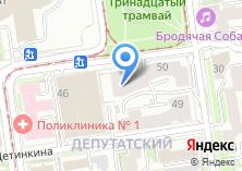 Компания «Детка» на карте